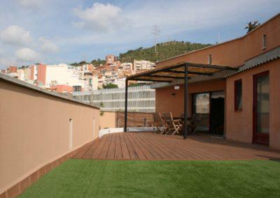 Reforma terraza nou barris