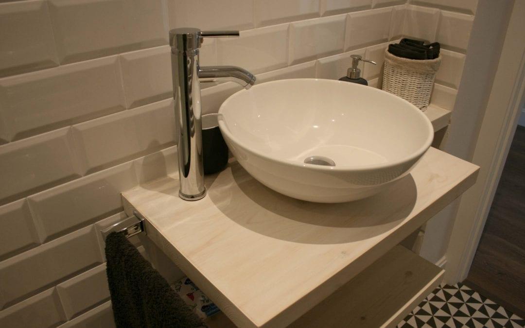 Reforma baños en el barrio de Sarrià
